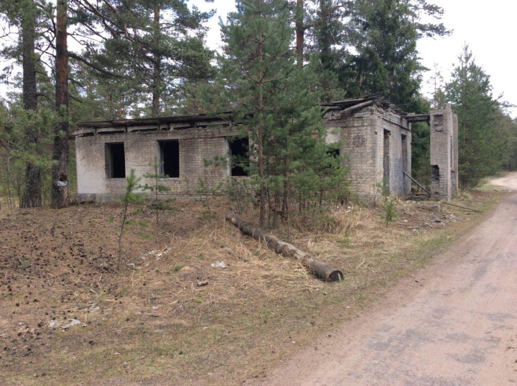 Воинская часть в районе Большого Куземкино