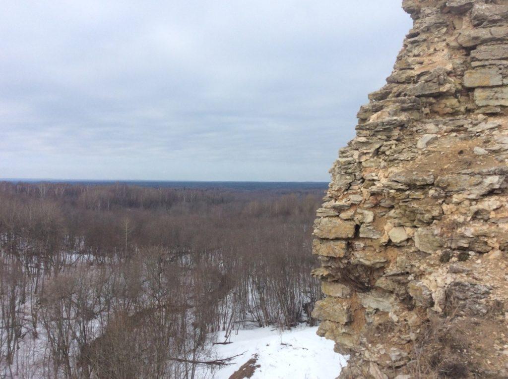 Виды Ижорской возвышенности. Копорская крепость.
