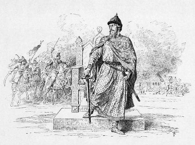 Князь Дмитрий Александрович, сын Александра Невского.