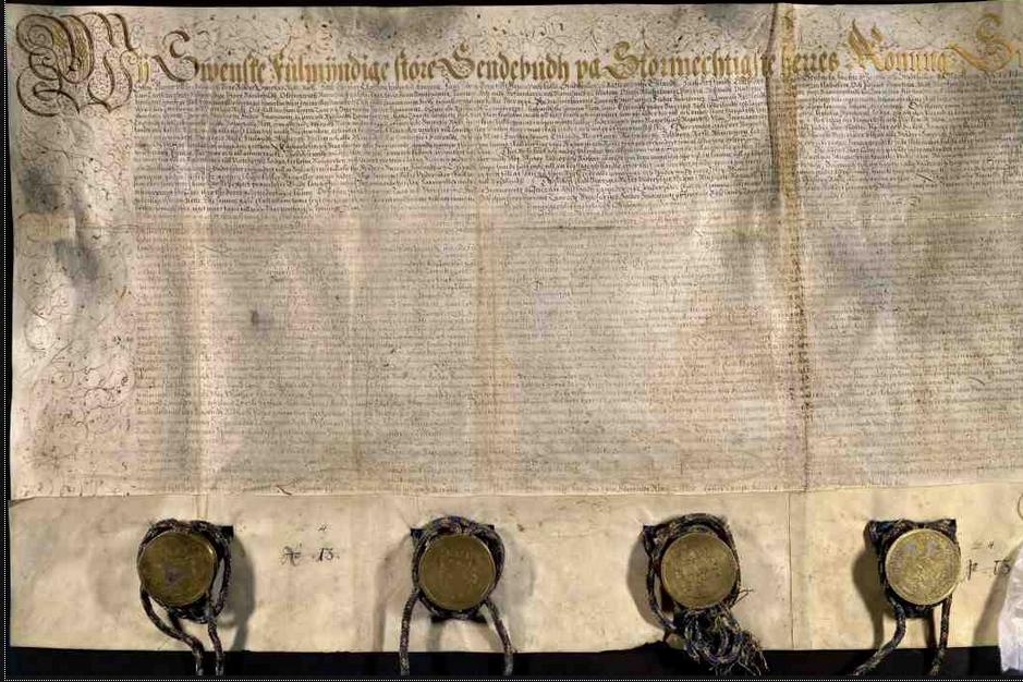 Тявзинский договор. Титульный лист.
