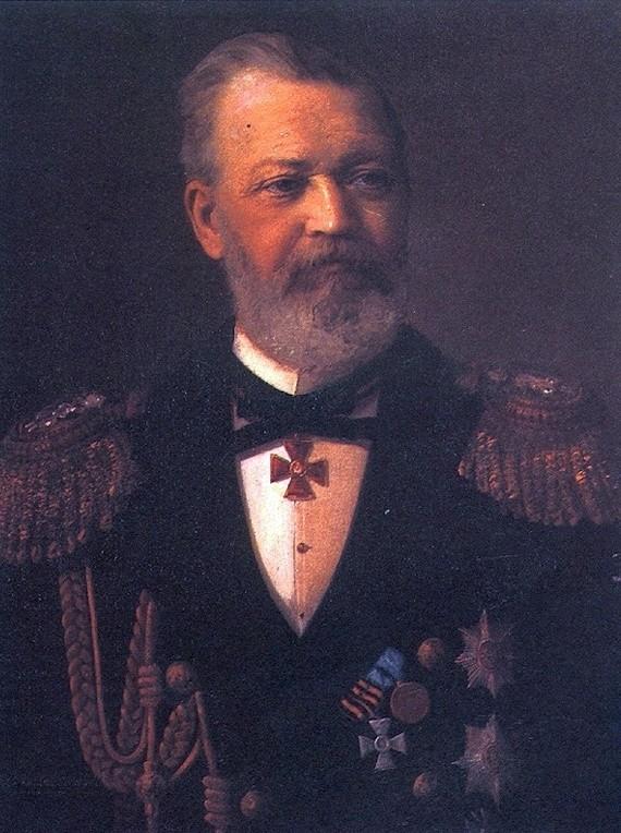 Илья Алексеевич Шестаков. Российский флотоводец и гсоударственный деятель.
