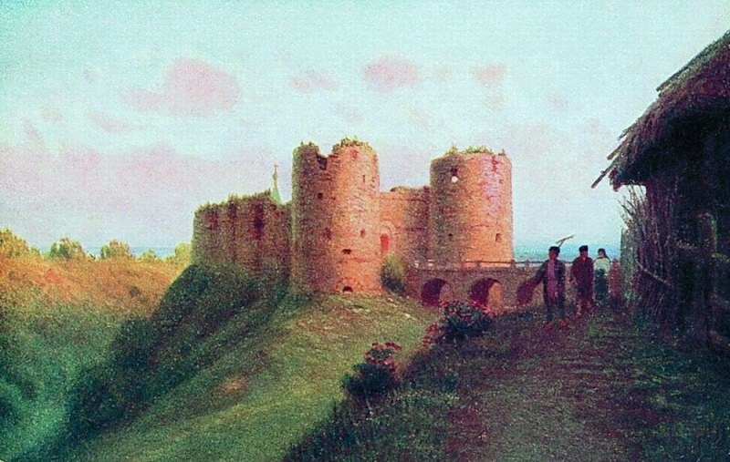 Крепость Копорье летом. Кондратенко Г. П.