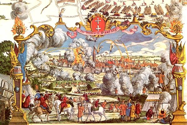 Война за Польское наследство. Осада Данцига.