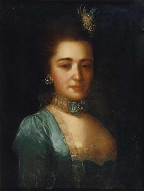 Ф. Рокотов. Княгиня Прасковья Ивановна Голицына, ур. Шувалова (1734-1802).