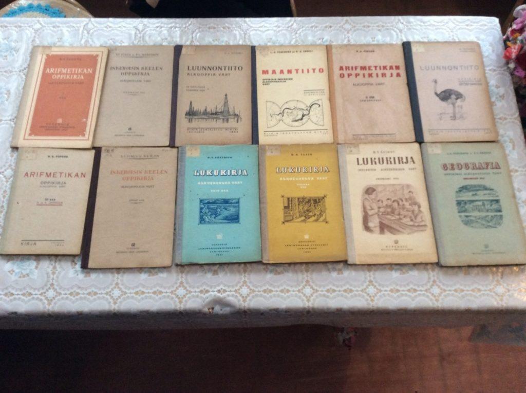 Учебники на ижорском языке