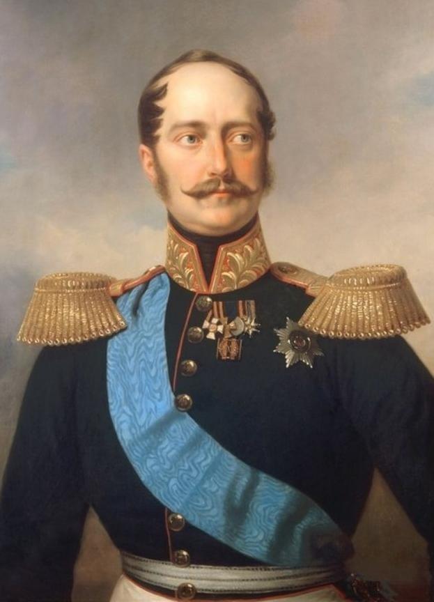 Император Николай Первый. Неизв. худ. 1840-е гг.