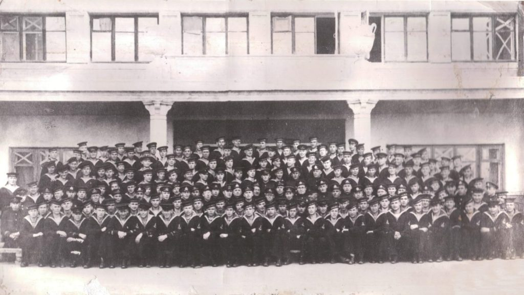 Бойцы морского курсантского батальона ВМХУ (1941 г.)