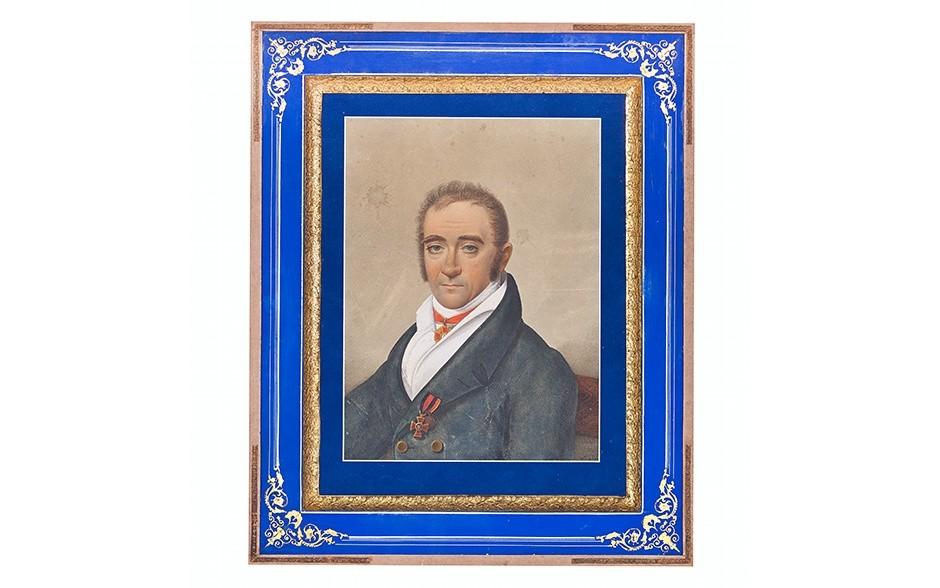 Портрет Якова Николаевича Молво (1766-1826), купца 1-ой гильдии.