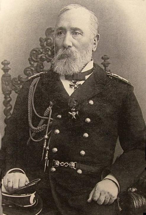 Временно управляющий морским министерством вице-адмирал Н. М. Чихачев