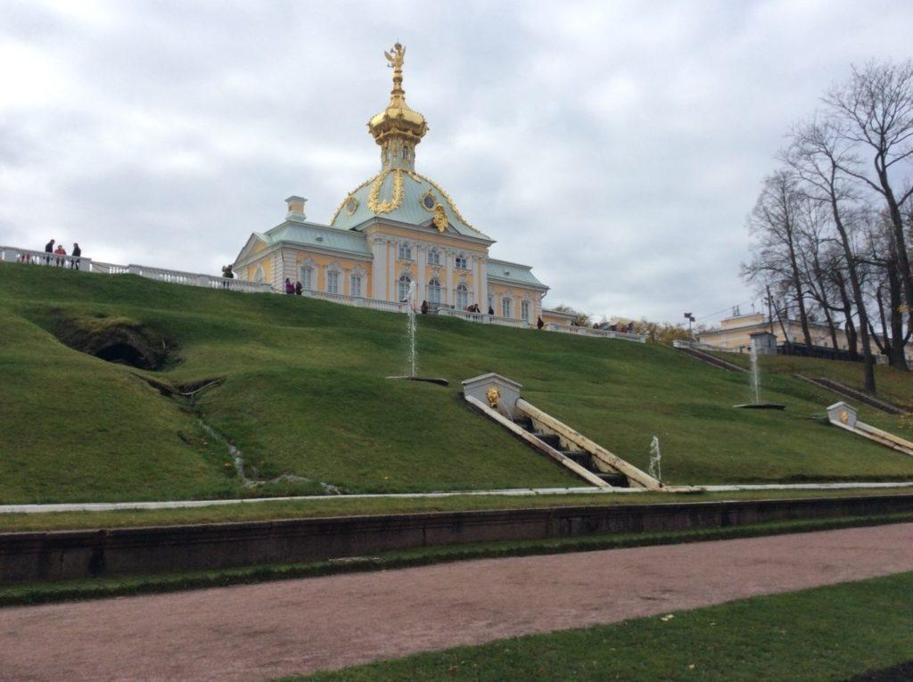 Большой Петергофский дворец, Корпус под Гербом