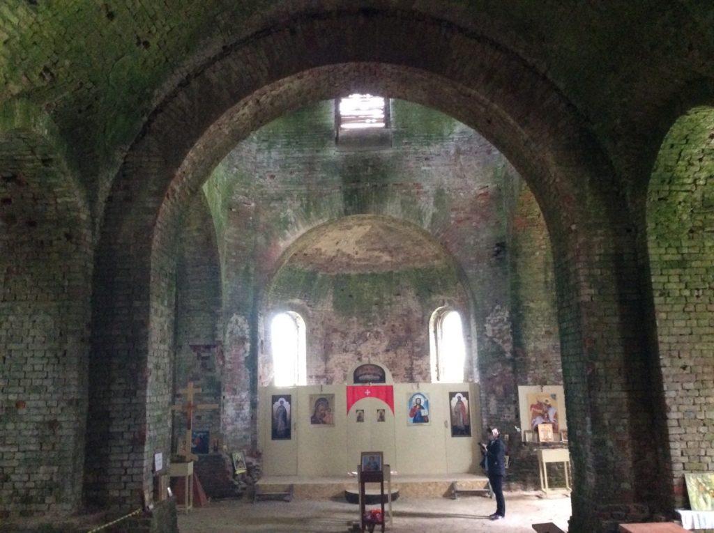 Церковь святого великомученика Георгия Победоносца. Ратчино, Кингисеппский район