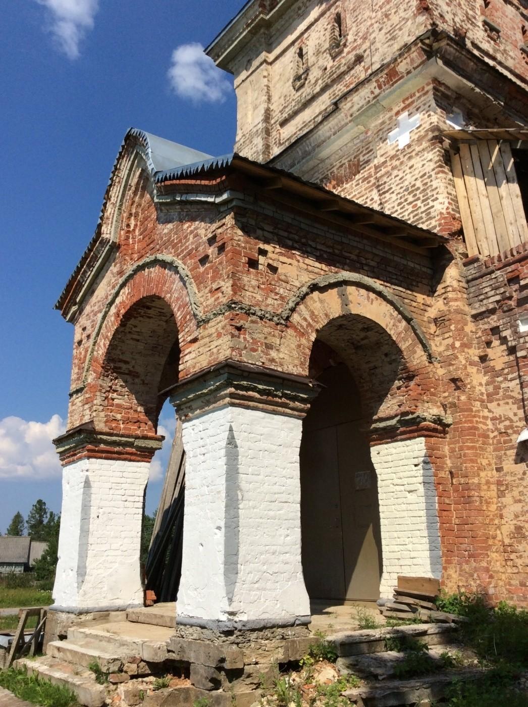 Церковь святителя Николая Чудотворца. Никольская церковь. Керстово. Кингисеппский район.