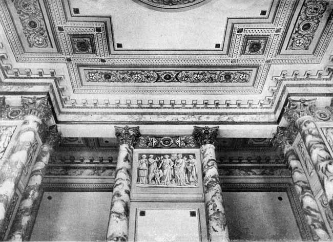 Английский дворец. Петергоф. Интерьеры