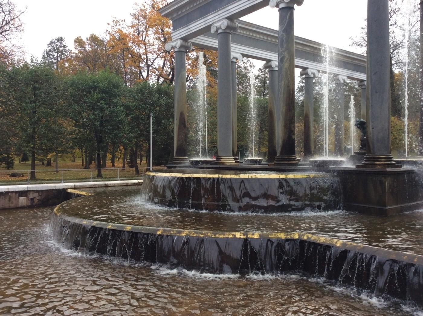 Львиный каскад. Нижний парк. Петергоф