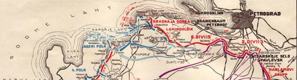 Наступление на Петроград в 1919 году