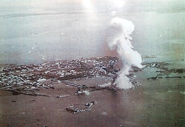 Взрыв «Марата» в Кронштадте 23 сентября 1941 г.