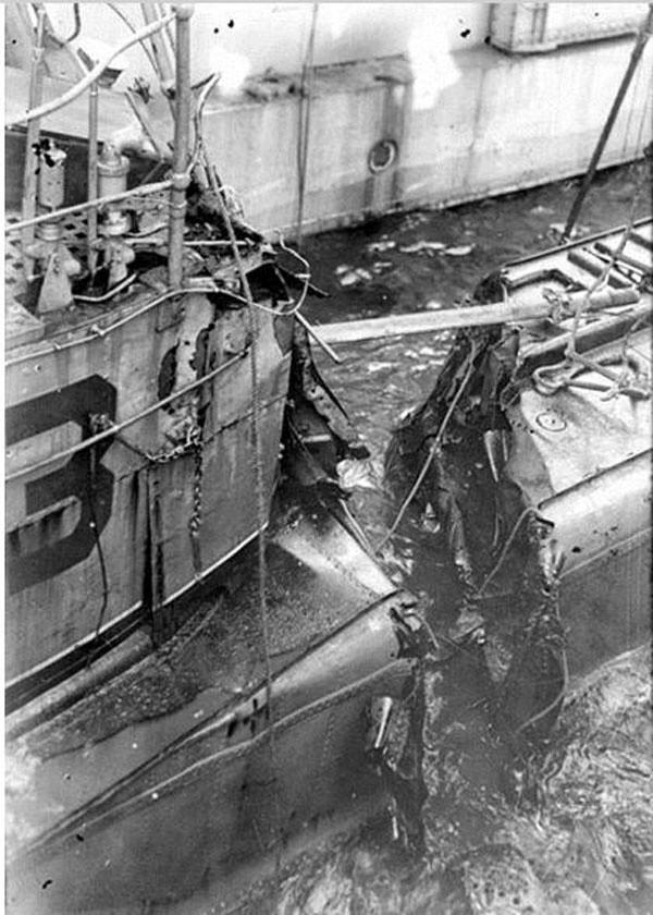 Подводная лодка «Б-3». Балтийский флот