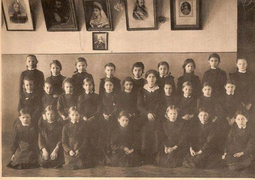 Приготовительный класс в женской гимназии