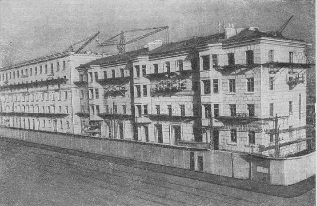 Скоростная стройка на проспекте Стачек