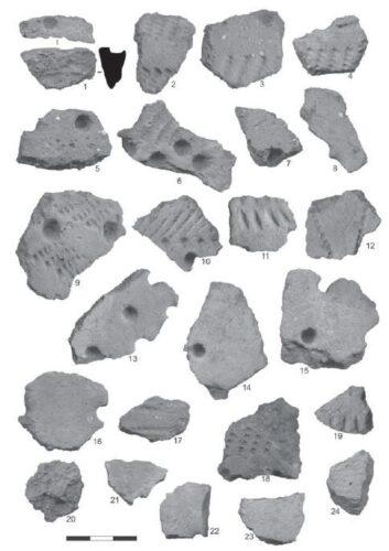 Археологические памятники Нарвско-Лужского Междуречья