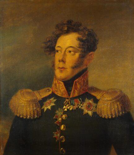 Портрет А. И. Альбрехта Джорджа Доу