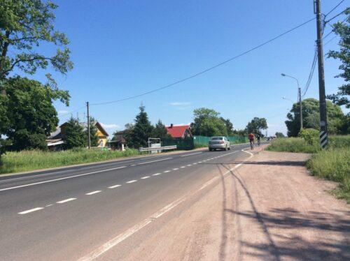 Стрельнинский циклодром. Волхонское шоссе
