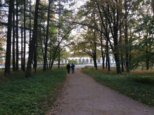 Александрийский (Пролетарский парк).Петергоф